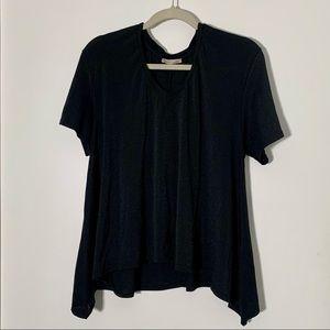 Zara OS Black Tee *Size L*